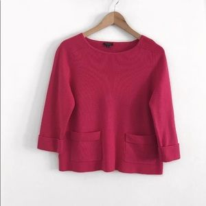 Ann Taylor Sweater Pullover pink size s